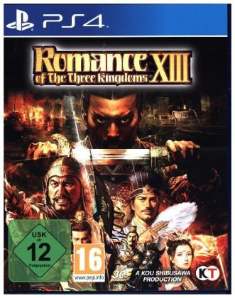 Romance of the Three Kingdoms XIII German Edition - PS4 | Dodax.co.jp