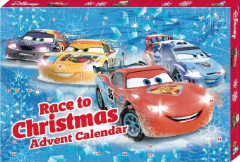 Cars Advent Calendar - Race to Christmas | Dodax.nl