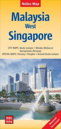 Nelles Map Malaysia: West, Singapore | Dodax.at