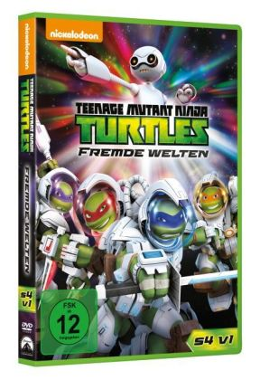 Teenage Mutant Ninja Turtles: Fremde Welten, 1 DVD. Season.4.1 | Dodax.at