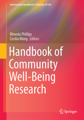 Handbook of Community Well-Being Research | Dodax.ch