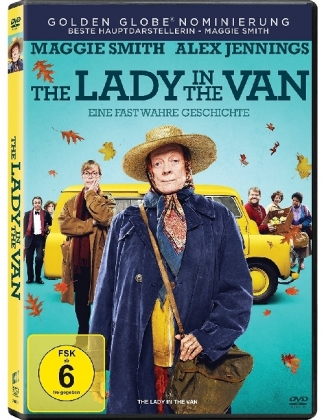 The Lady in the Van, 1 DVD + Digital UV | Dodax.de