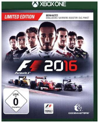 F1 2016 Limited Edition; German Version - XBox One | Dodax.fr
