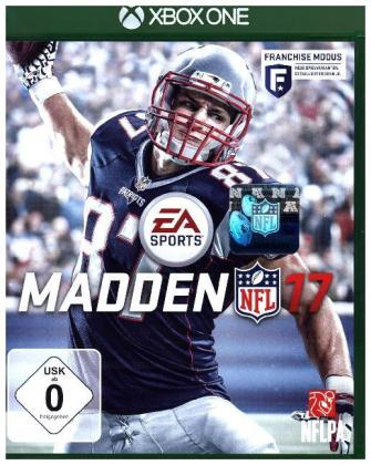 MADDEN NFL 17, 1 Xbox One-Blu-ray Disc | Dodax.at