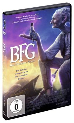 BFG - Big Friendly Giant, DVD | Dodax.ch