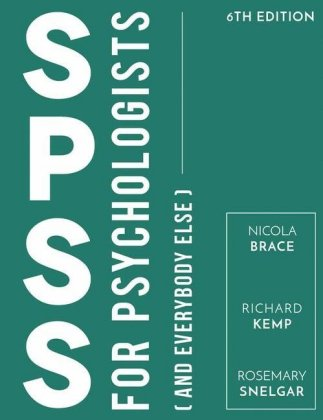 IBM SPSS for Psychologists | Dodax.at