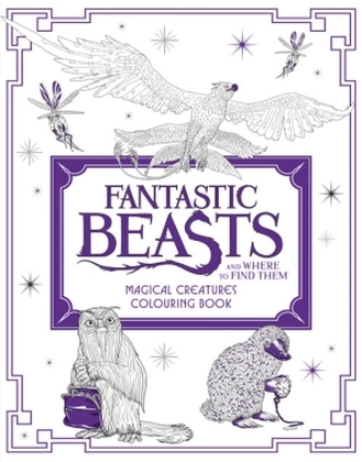 Fantastic Beasts and Where to Find Them: Magical Creatures Colouring Book | Dodax.de
