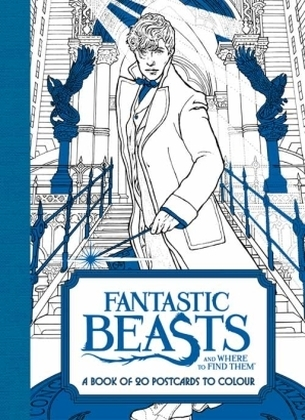 Fantastic Beasts and Where to Find Them: A Book of 20 Postcards to Colour | Dodax.at