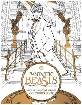 Fantastic Beasts and Where to Find Them: Magical Characters and Places Colouring Book | Dodax.ca