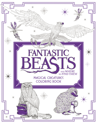 Fantastic Beasts and Where to Find Them: Magical Creatures Coloring Book | Dodax.co.uk