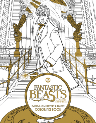 Fantastic Beasts and Where to Find Them: Magical Characters and Places Colouring Book | Dodax.de