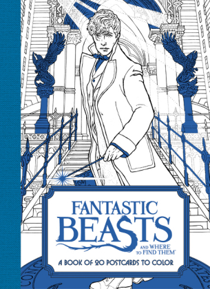 Fantastic Beasts and Where to Find Them: A Book of 20 Postcards to Color | Dodax.at