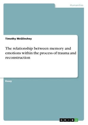 The relationship between memory and emotions within the process of trauma and reconstruction | Dodax.ch