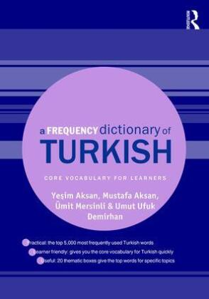 A Frequency Dictionary of Turkish | Dodax.at