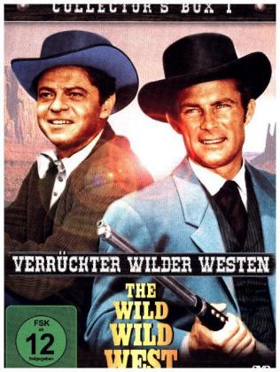 Wild Wild West - Verrückter wilder Westen, 4 DVDs (Collector's Box). Box.1 | Dodax.at