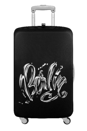 Luggage Cover TYPE Berlin Pop | Dodax.fr