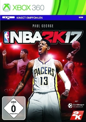 NBA 2K17, 1 Xbox360-DVD | Dodax.co.jp
