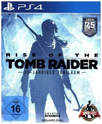 Rise of the Tomb Raider, 20-jähriges Jubiläum, 1 PS4-Blu-ray Disc | Dodax.nl