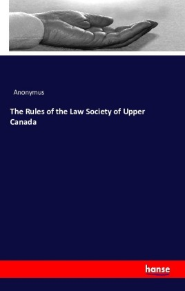 The Rules of the Law Society of Upper Canada | Dodax.com