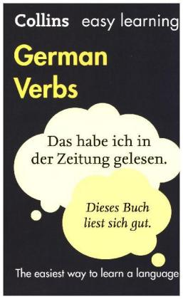 Collins easy learning German Verbs | Dodax.at