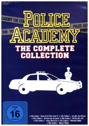 Police Academy 1-7 - The Complete Collection, 7 DVDs | Dodax.nl