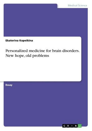 Personalized medicine for brain disorders. New hope, old problems   Dodax.pl