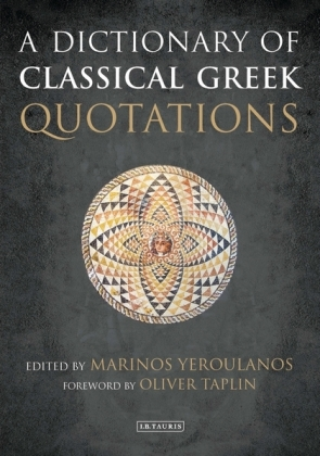 A Dictionary of Classical Greek Quotations | Dodax.pl
