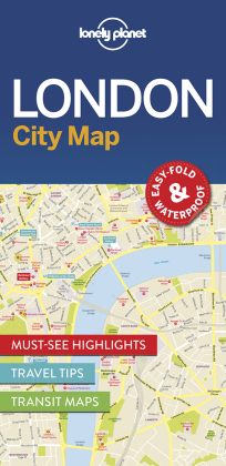 Lonely Planet City Map London | Dodax.fr