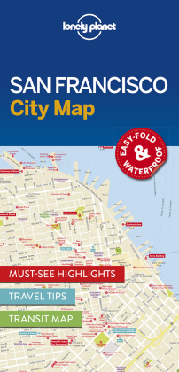 Lonely Planet City Map San Francisco | Dodax.at