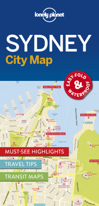 Lonely Planet City Map Sydney | Dodax.ch