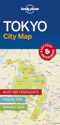 Lonely Planet City Map Tokyo | Dodax.at