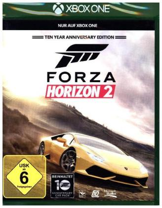 Forza Horizon 2 Anniversary Edition; German Version - XBox One | Dodax.at