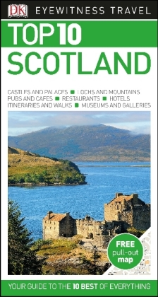 DK Eyewitness Top 10 Travel Guide Scotland | Dodax.at