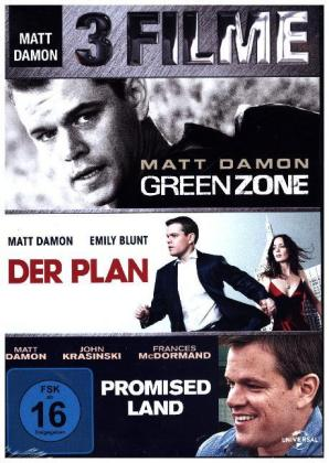 Matt Damon - 3 Movie Set | Dodax.es