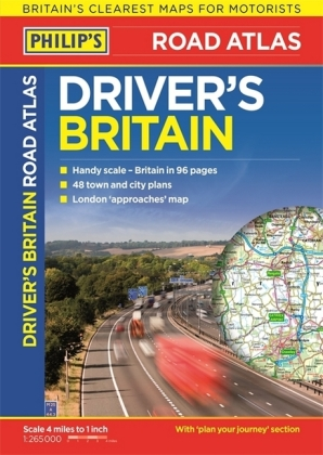 Philip's Driver's Atlas Britain | Dodax.at