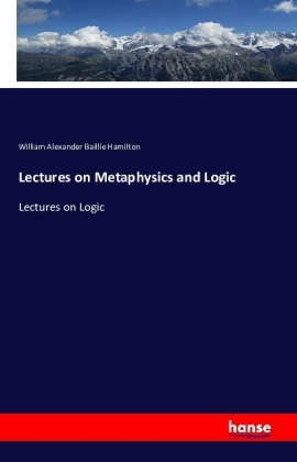 Lectures on Metaphysics and Logic | Dodax.it