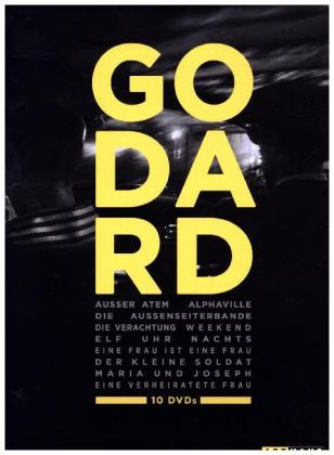 Best of Jean-Luc Godard, 10 DVDs | Dodax.at