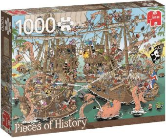 Rob Derks Pieces of History - Piraten (Puzzle)   Dodax.ch