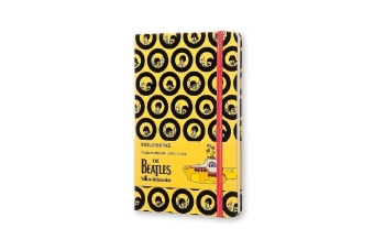Moleskine Notizbuch The Beatles, Large, A5, Liniert, gelb | Dodax.pl