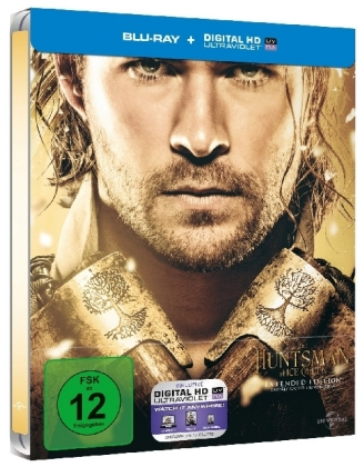 The Huntsman & The Ice Queen, 1 Blu-ray + Digital UV (Steelbook) | Dodax.at