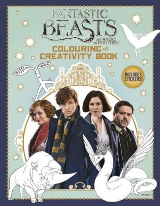 Fantastic Beasts and Where to Find Them - Colouring and Creativity Book | Dodax.at