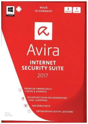 Avira Internet Security Suite 2017 - 2 Geräte, DVD-ROM | Dodax.at