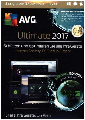 AVG Ultimate 2017, 1 DVD-ROM (Special Edition) | Dodax.ch