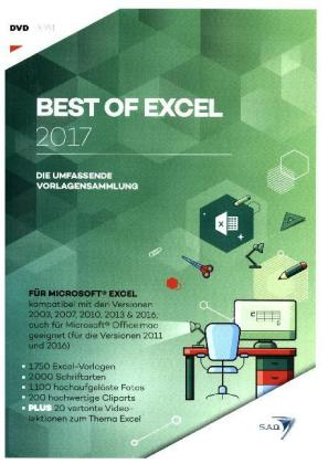 Best of Excel 2017, 1 DVD-ROM | Dodax.ca
