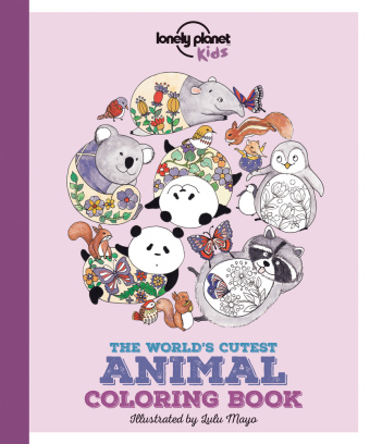 The World's Cutest Animal Colouring Book | Dodax.ch