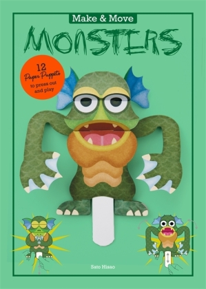 Make and Move: Monsters | Dodax.at