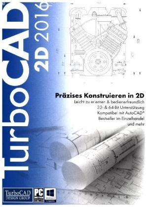 TurboCAD 2D 2016, 1 DVD-ROM | Dodax.at