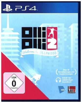 OlliOlli2, Welcome To Olliwood, 1 PS4-Blu-ray Disc | Dodax.at