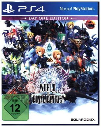 World of Final Fantasy, 1 PS4-Blu-ray Disc (Day One Edition) | Dodax.ch