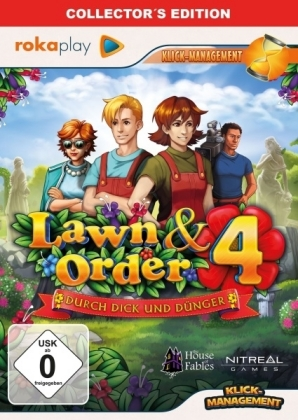 Lawn & Order 4, Durch Dick und Dünger, 1 CD-ROM (Collector's Edition) | Dodax.com